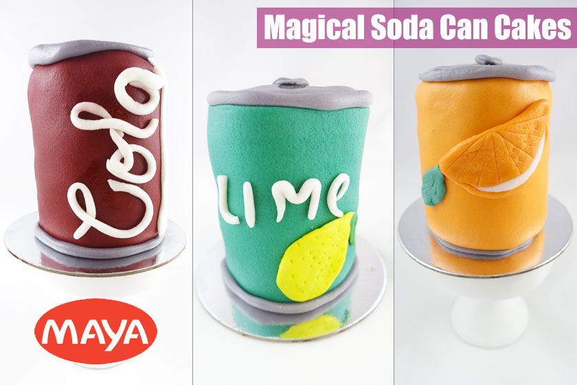 Magical Soda Can Cakes