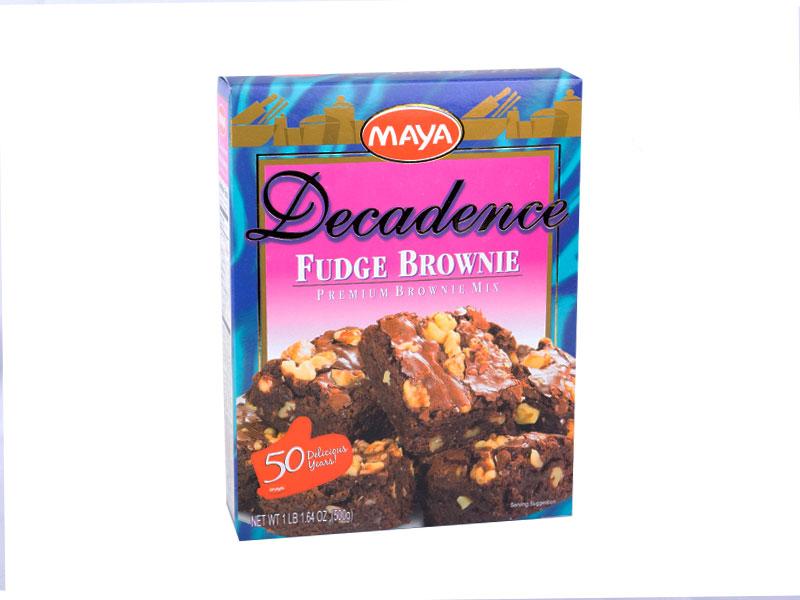 Maya Decadence Fudge Brownie Premium Mix