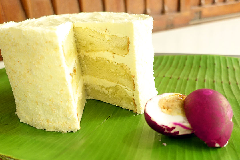 Bibingka Layer Cake