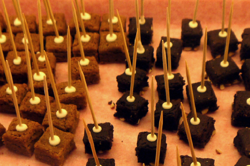 Butterscotch Cake Pop Squares