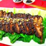 Sticky Chinese Pork in Dark Soy Sauce