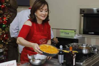 Nina Daza-Puyat Baking Orange Tart
