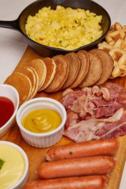 Breakfast Hotcake Board
