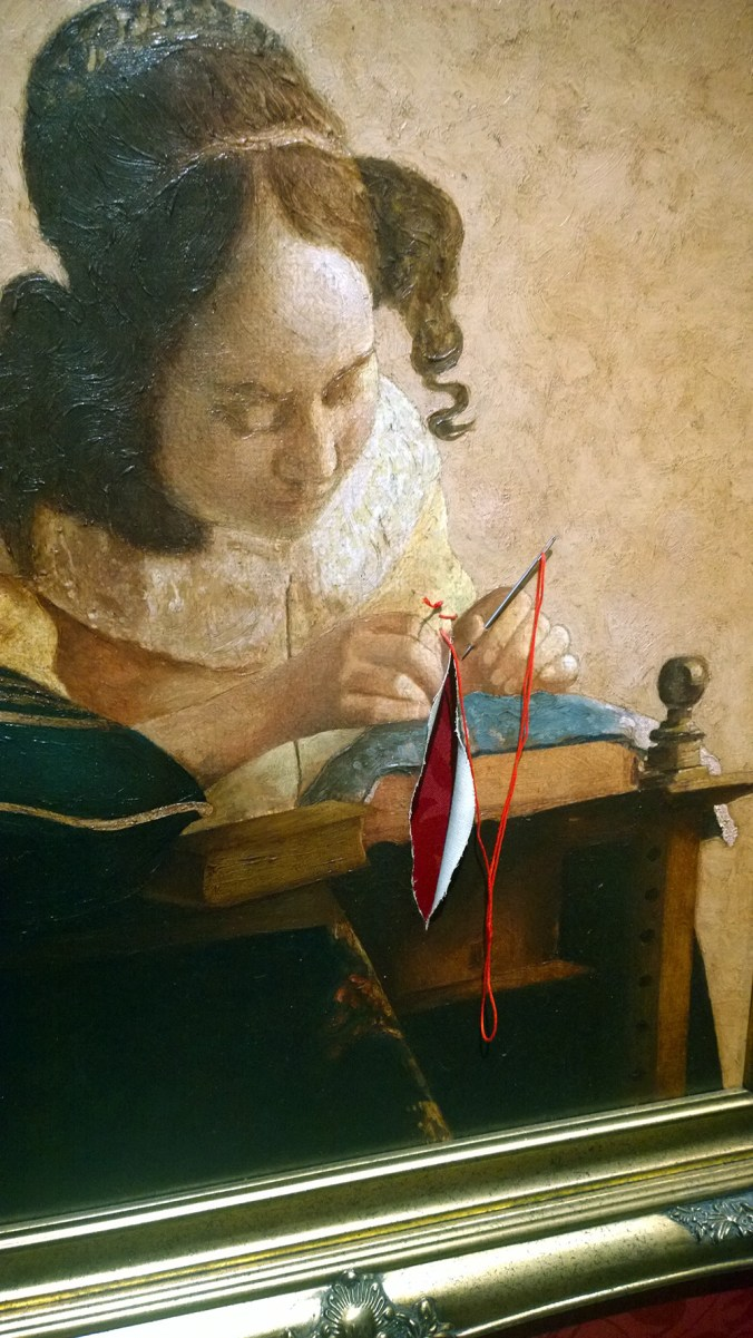 Vermeers lacemaker