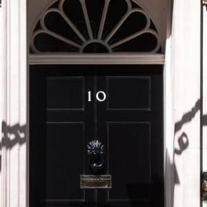 the door to number 10