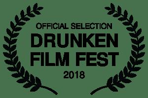 OFFICIALSELECTION DRUNKENFILMFEST 2018blackonwhite