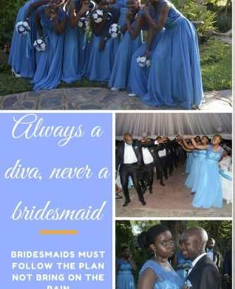 Always A Diva, Never A Bridesmaid