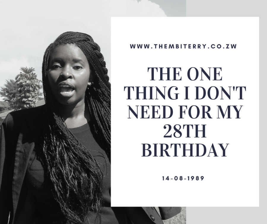 Zimbabwean Blogger Thembi Terry 28th Birthday