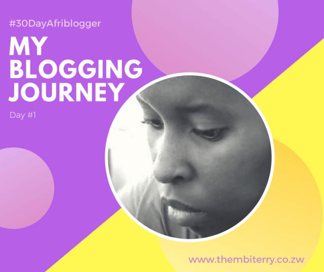 Zimbabwean Blogger Thembi Terry Zulu Blogging Journey