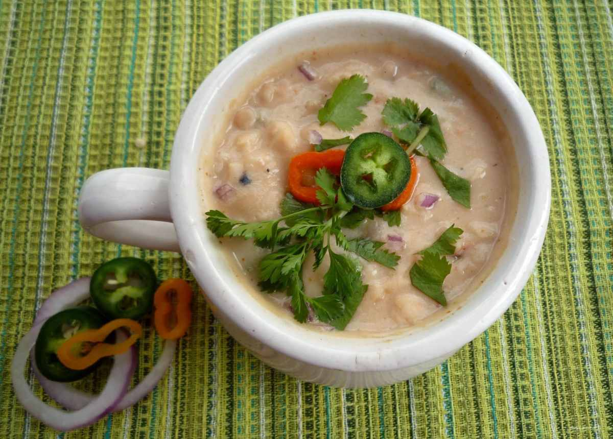White #Chili with #Chicken Recipe and Photo by Heidy L. McCallum_The McCallums Shamrock Patch