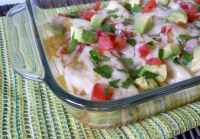 #Chicken #Enchiladas with #Verde #Sauce