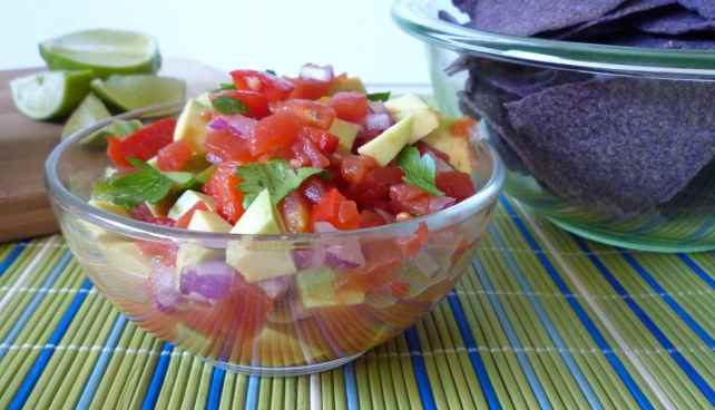 #Tomato and #Avocado #Salsa