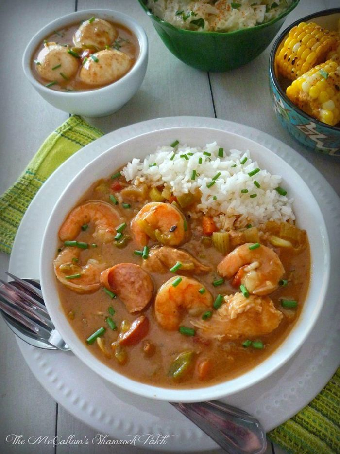 "Creole Gumbo has a mystifying flavor all of its own, the kind of delicious flavor you don't mind drowning in. You might suddenly find yourself murmuring ""Laissez les bonus temps rouler"" smacking your lips in pure unadulterated sheer delight."