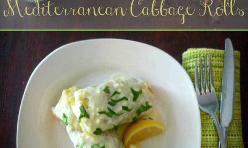 Mediterranean Cabbage Rolls – Lahanodolmathes