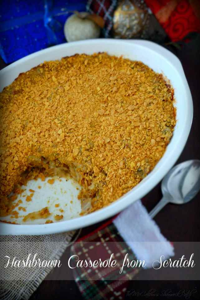#Hashbrown #Casserole from #ScratchRecipe