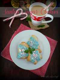 Santas Sugar Cookies