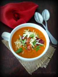 This delicious recipe for Tomato Basil Soup with Asiago & Bacon will take the average Tomato soup to an entirely new level of delicious warmth in your belly in these cold winter months combining San Marzano tomatoes, with crisp quality bacon, a rich delicate soft Asiago cheese, and fresh basil.