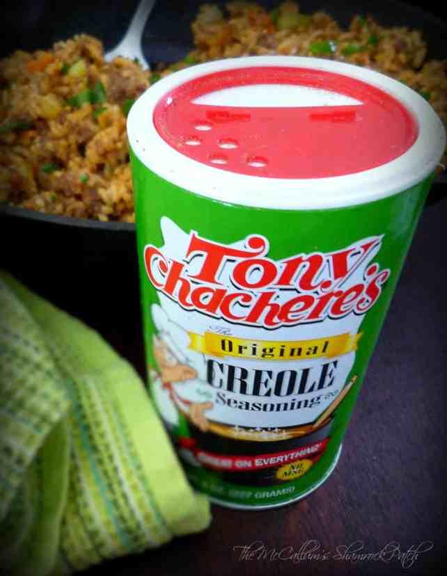 #DirtyRice #Rice #Tony Chachere' #Creole