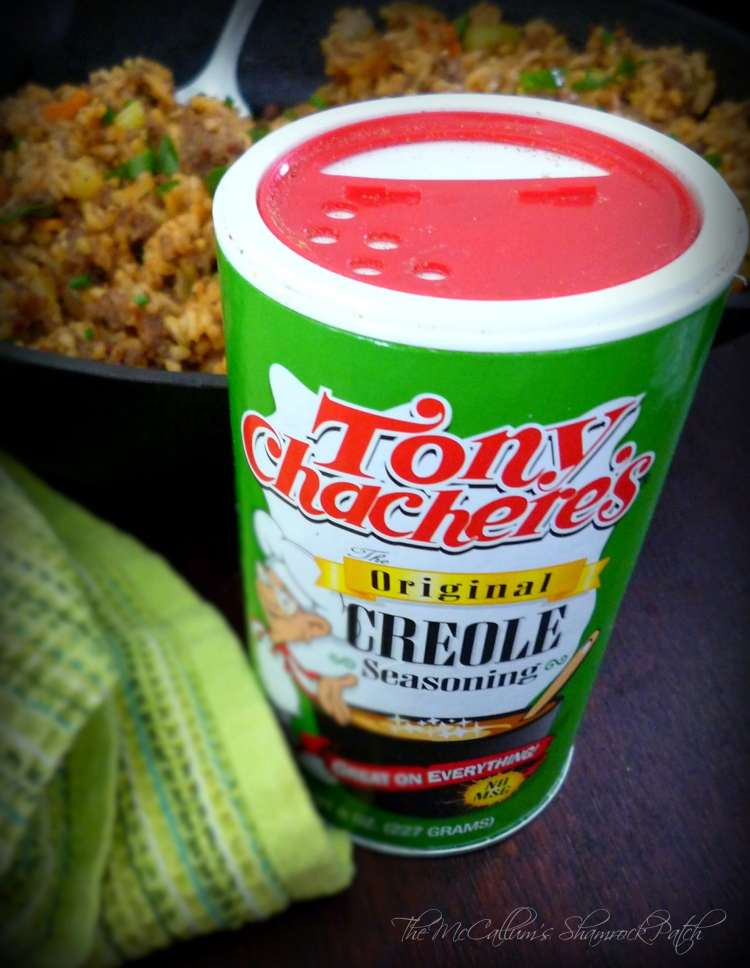 #DirtyRice #Rice #Tony Chachere' #Creole