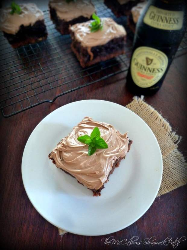 Irish Black & Tan Brownies