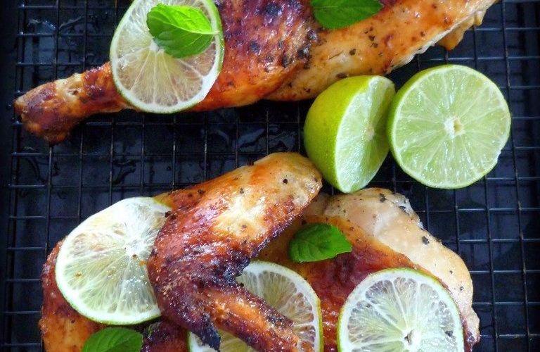 Roasted Mojito Chicken