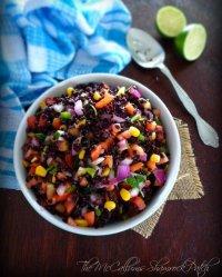 Simple Black Rice Salad