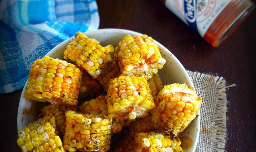 Grilled Cajun Corn on the Cob