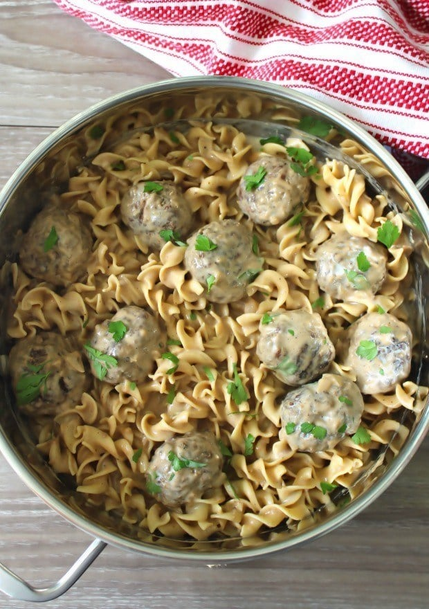 Swedish Meatballs have been made and enjoyed in American homes for years as an appetizer at dinner parties and swanky get-togethers. Chances are if your grandparents or parents were the types of folks to enjoy throwing fancy dinner parties in the '40s, '50s, '60s, and early 70's you might have had the privilege of enjoying these international delights from Sweden.