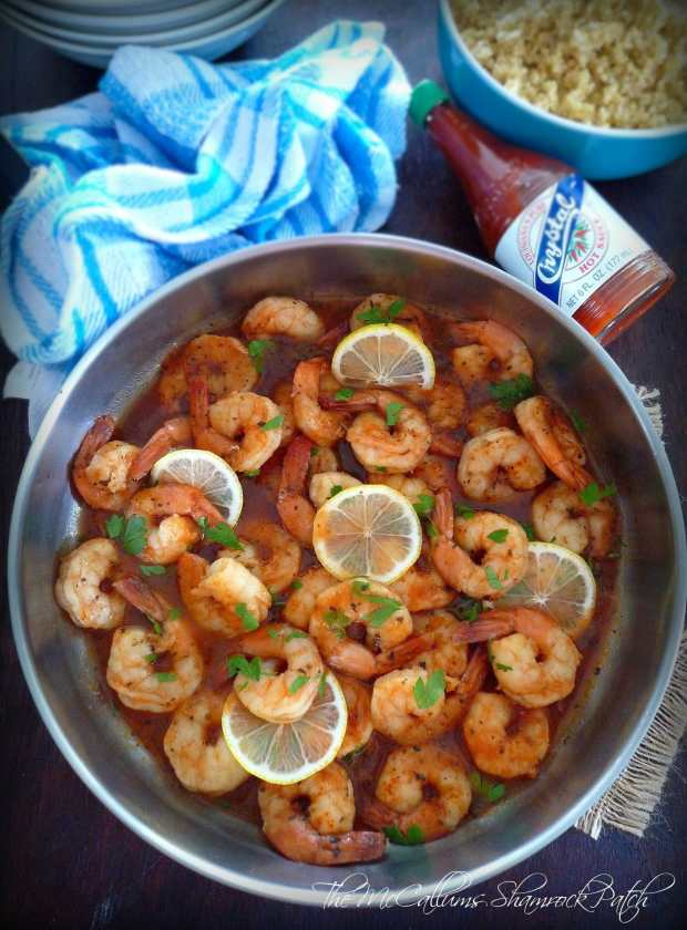 Fiery Lemon Shrimp by The McCalums Shamrock Patch
