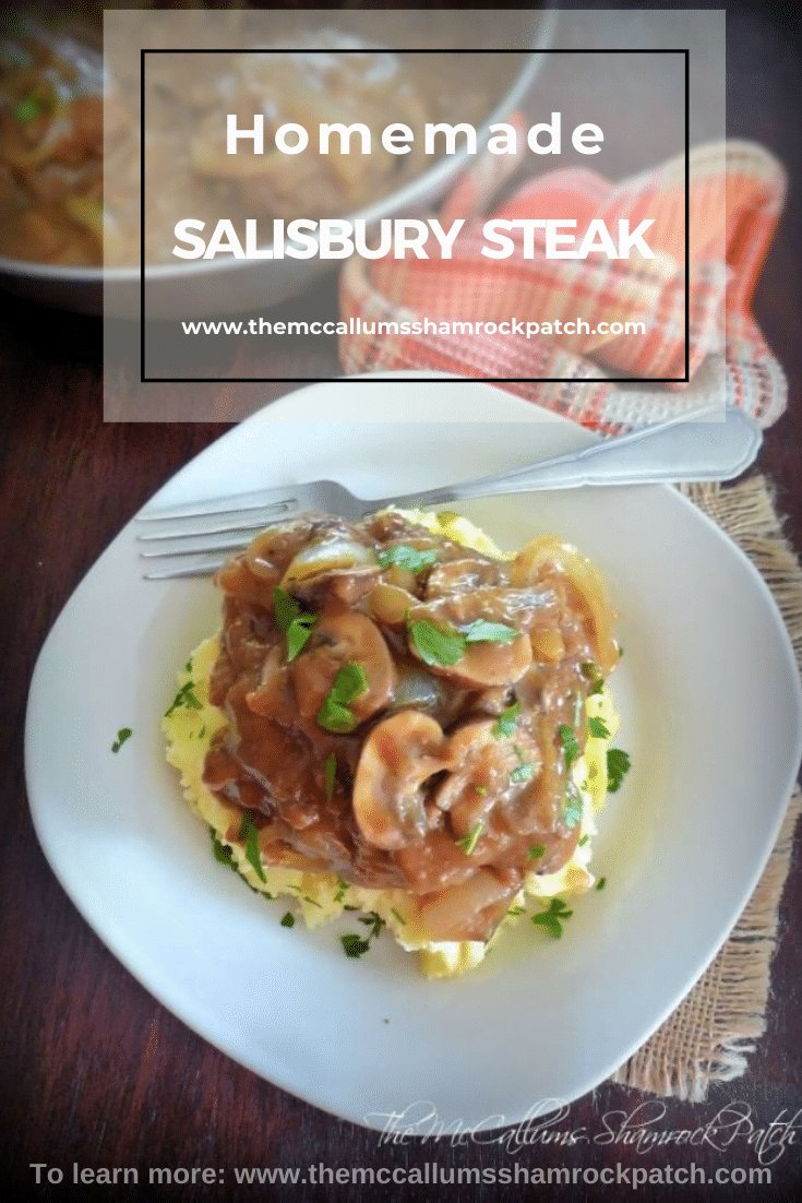 Homemade Salisbury Steak