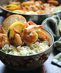 NOLA-Style BBQ Shrimp is the one Louisiana dish you don't want to miss; rich in taste from being cooked in a deliciously sinful, spiked buttery sauce of Worcestershire sauce, real unsalted butter, a splash of hot sauce, lemon juice, minced garlic, and herbs and spices for that decadent flavor