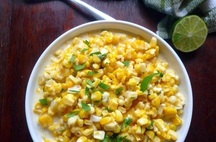 Mexican-Style Creamed Corn