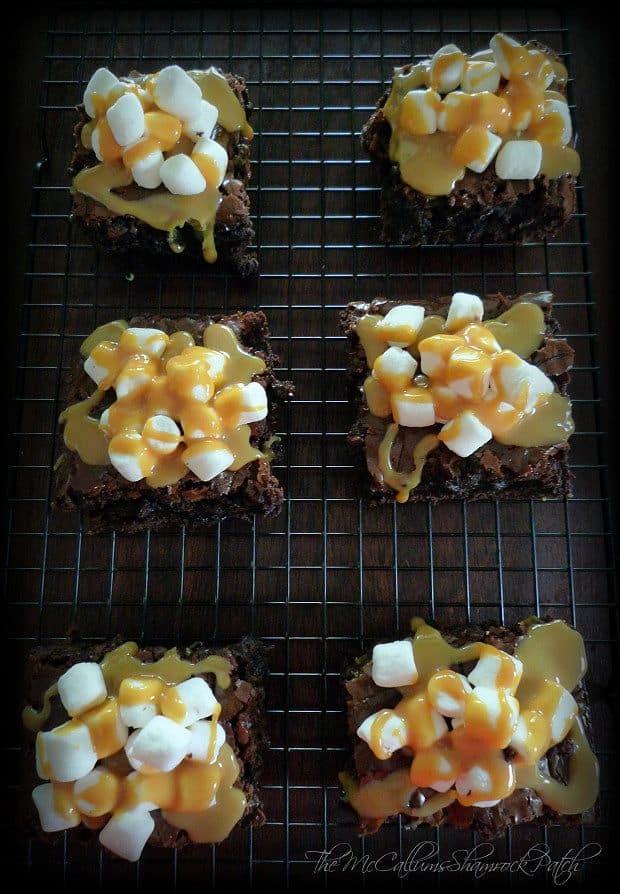 marshmallow-caramel-brownies-1