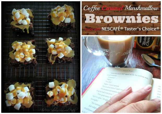 nescafe-tasters-choice-coffee-caramel-marshmallow-brownies