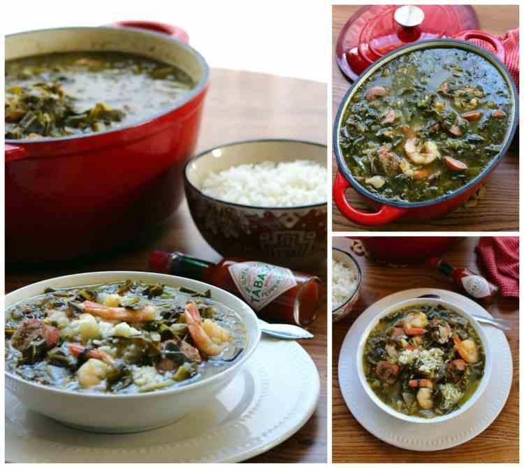 green-gumbo-gumbo-zherbes-recipe-pinterest