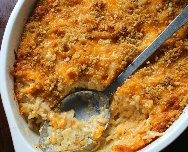 Southern-Style Cheesy Hashbrown Casserole
