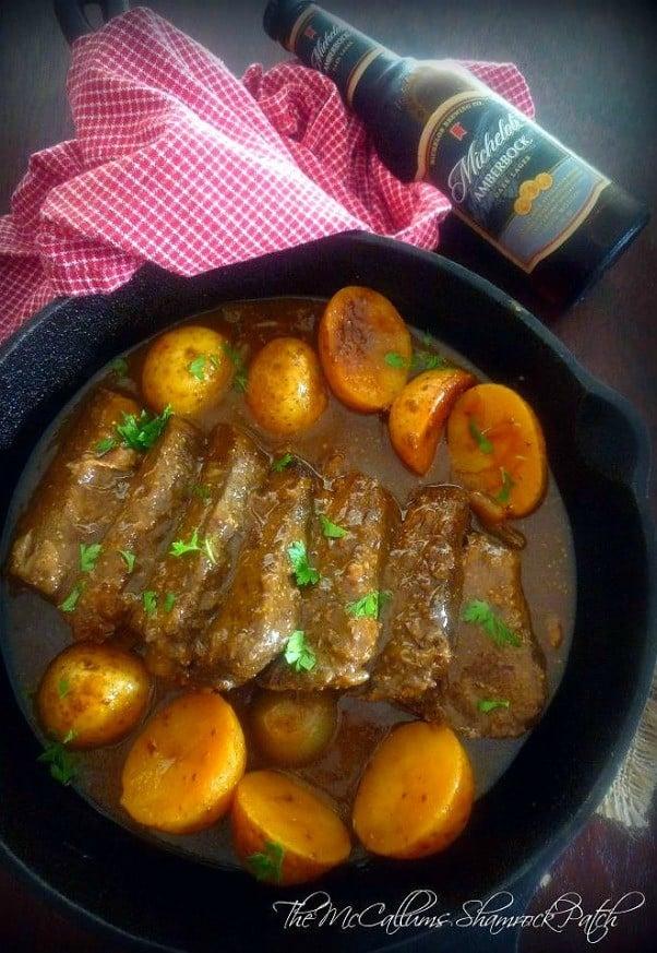 german-american-bock-beer-beef-roast