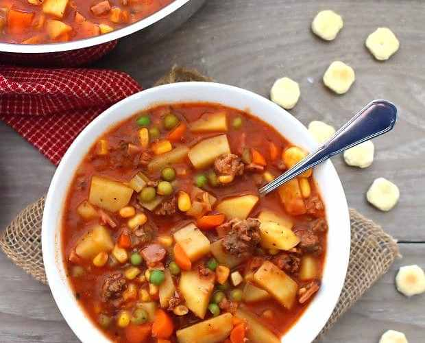Easy To Make Hamburger Soup – Poor Man's Soup