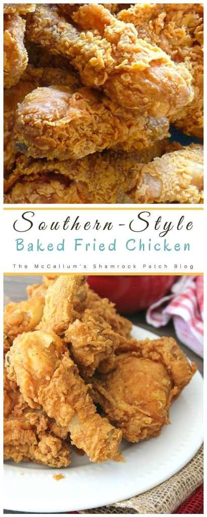 Southern-Style Baked Fried Chicken