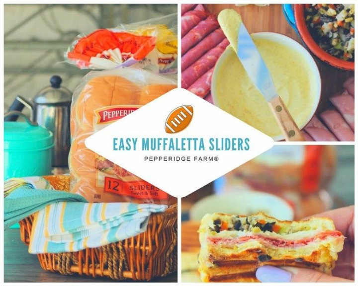 Easy Muffaletta Sliders Pepperidge Farm