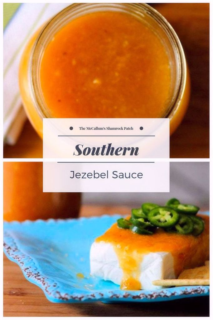 Southern Jezebel Sauce will haunt your taste buds with fiery sweetness. It's hot, yet sweet, made with the finest pineapple preserves, apricot preserves, apple jelly, horseradish, prepared mustard with a hint of lemon juice is perfect as a glaze for ham, a grilling sauce, condiment, or served as an appetizer. This tasty sauce hails from the South, such as the Mississippi Delta, Florida, and evenLouisiana. It's a Southern thing.
