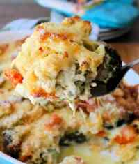 Cheddar Vegetable Au Gratin