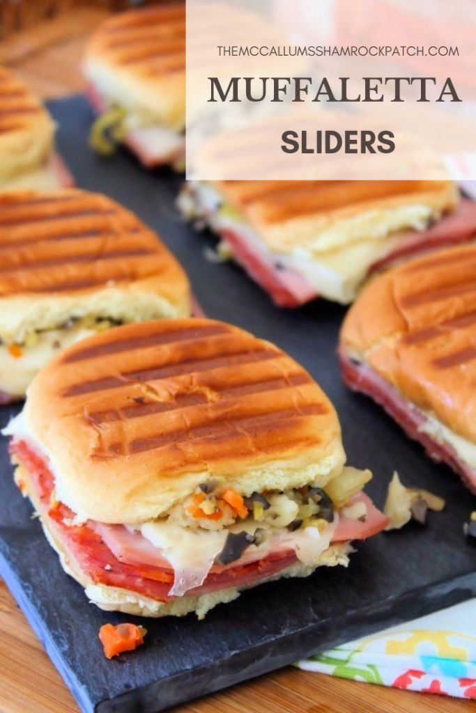 In the South, there are 3 things we go wild about our Football, our Southern Heritage, and foods from our Southern Heritage. Easy Muffaletta Sliders are one of those fabulouslydelicious mouth-watering foods from our Southern Heritage that fit the bill on Gameday.