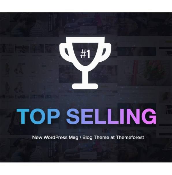 Top selling blog & magazine