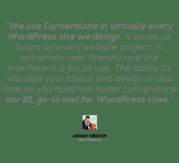 Cornerstone | The WordPress Page Builder - 6