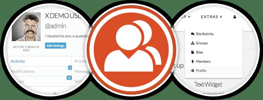 BuddyPress integration option in X theme