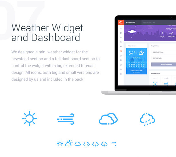 Weather Widget and Dashboard