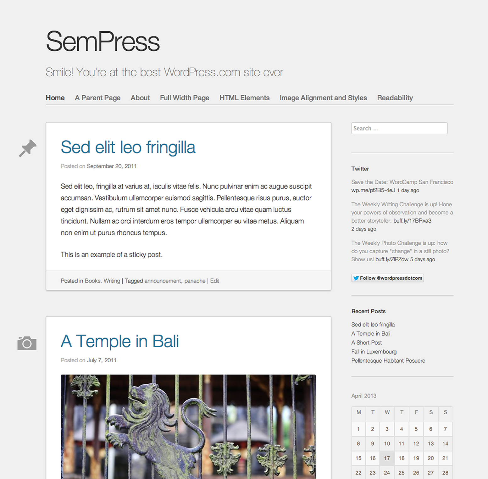 SemPress WordPress Theme