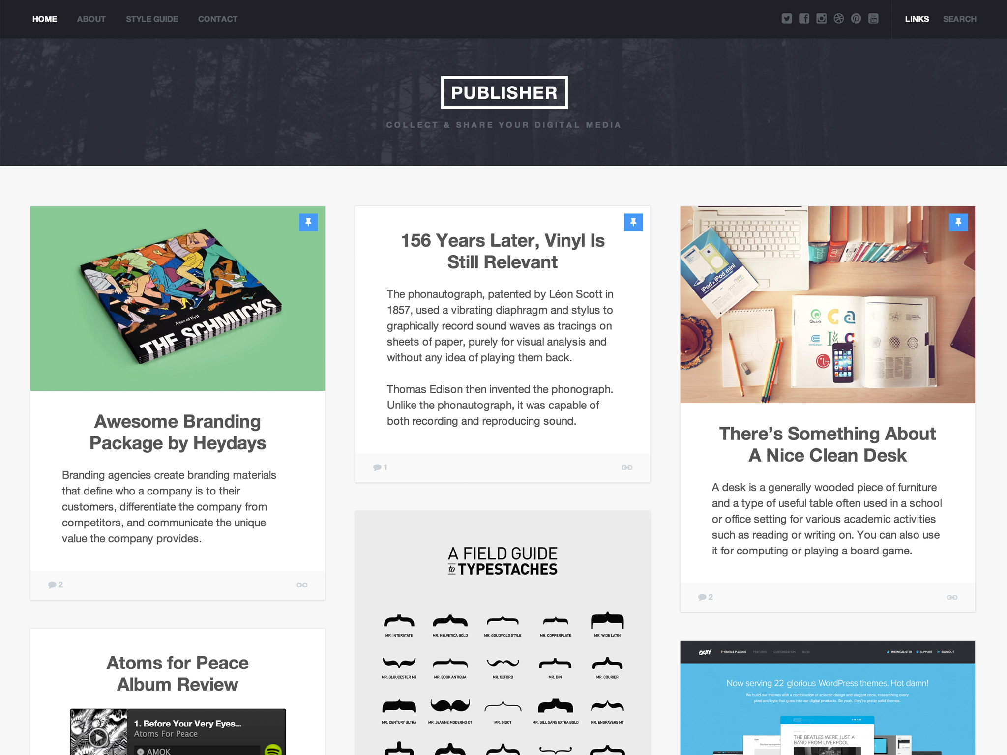 Publisher WordPress Theme