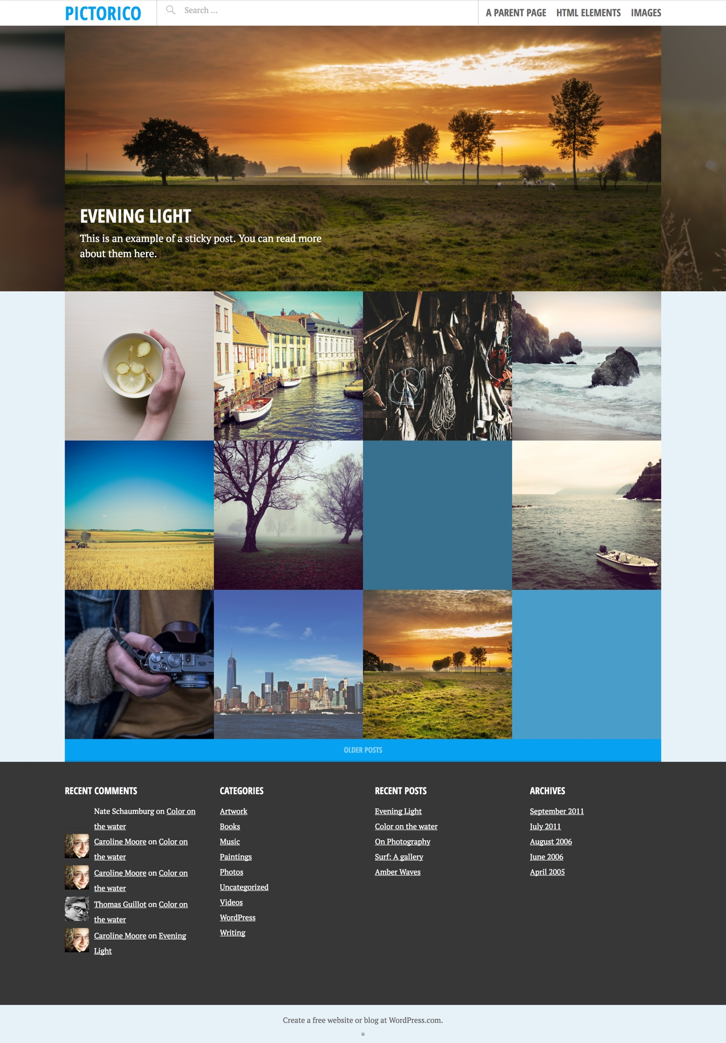 Pictorico WordPress Theme